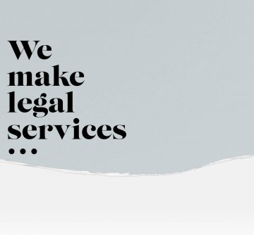 We make legal services