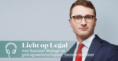 Licht op Legal podcast met Bastiaan Wallage