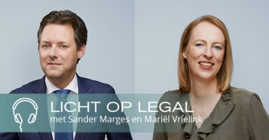 Licht op Legal Podcast VBK Mariel Vrielink en Sander Marges
